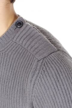 Pure Cashmere English Crewneck Sweater