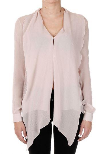 Silk Shirt with Foulard