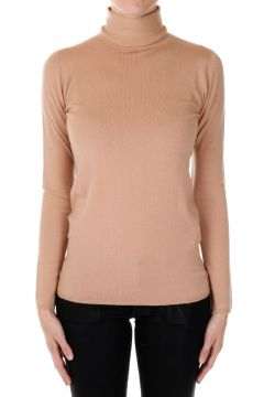High Neck Mixed Virgin Wool Sweater