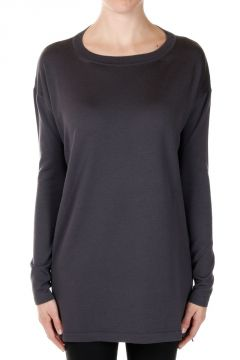 Round Neck Virgin Wool Sweater