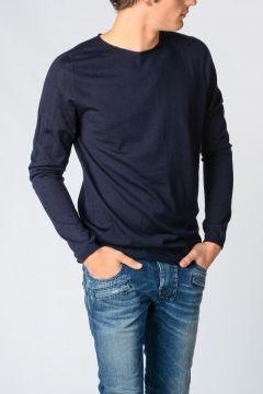 Crewneck Silk and Cashmere Blend Sweater