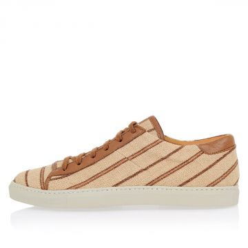 Sneakers in Canvas a Righe