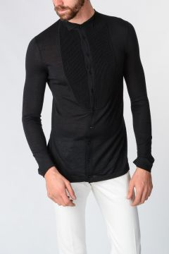 Cashmere Knitted shirt