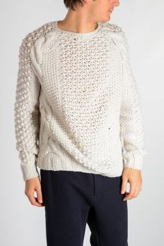 Cashmere Cable Knitted Sweater