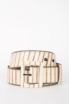 Python Leather Belt 45mm