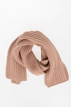 Cashmere Blend Knitted Scarf