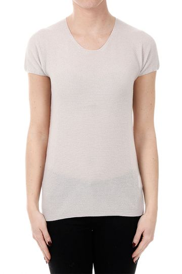 Cashmere Short sleeve Sweater