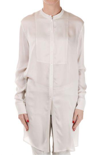 Oversize Silk Shirt