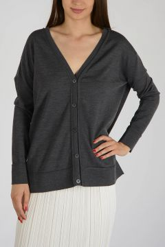 Virgin Wool Cardigan