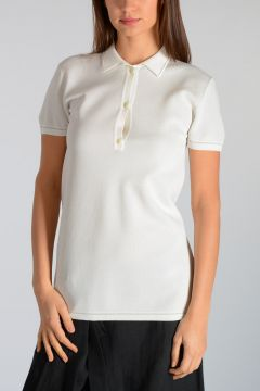 Glitter Short Sleeves Polo