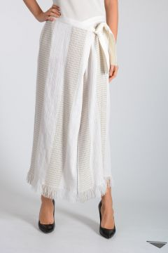 Knitted Wrap Skirt