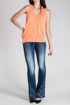 Cachemire & Silk Sleeveless Top