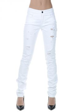 Jeans Destroyed in Denim Stretch 15 CM