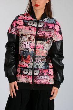 Murales Patterned Jacquard Jacket