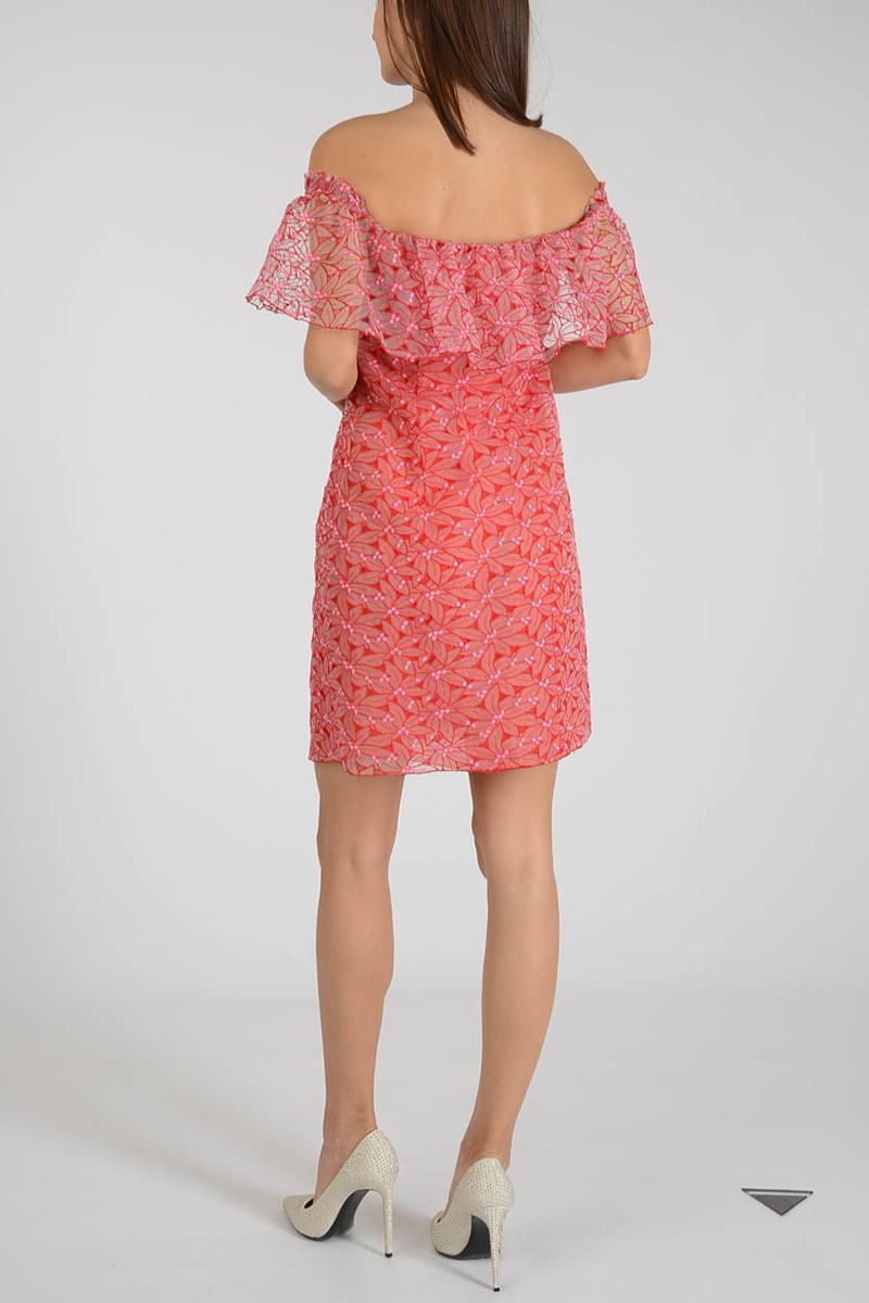 c45a29e10ca1 Giamba Women Short Floral Embroidered Dress - Glamood Outlet