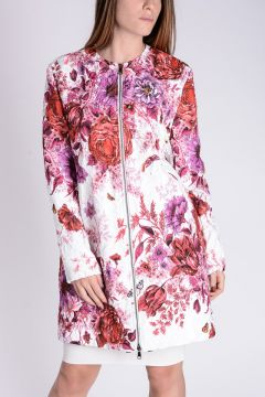 Floral Printed Coat