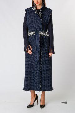 Wool Alpaca Sleeveless Coat