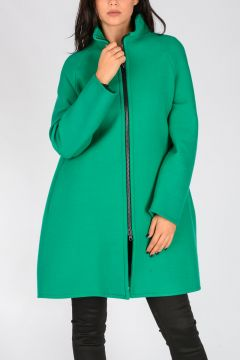 Cappotto VIVIEN in Lana Vergine Stretch