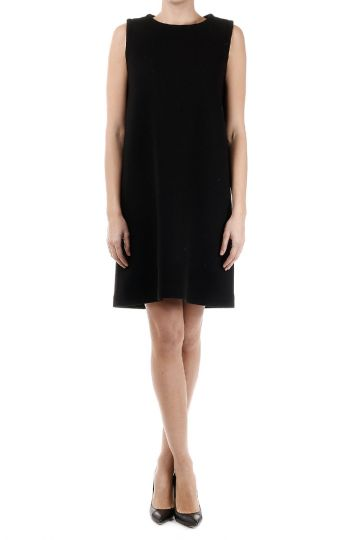 CLAUDIA Wool Stretch Blend Dress