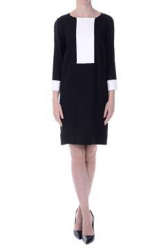 Vestito tunica Bianco E Nero