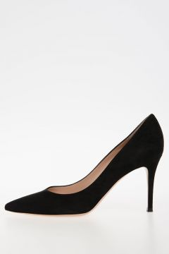 8,5cm suede Leather Pumps