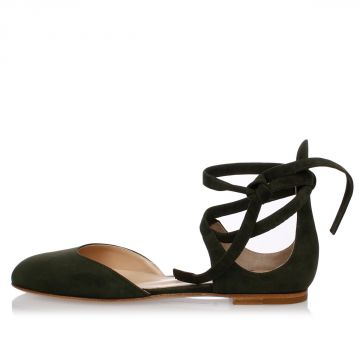 Leather suede PINA Flat Sandals