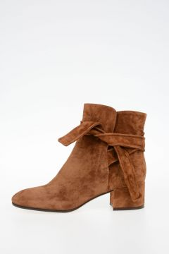 Suede Leather LESLIE MID Ankle boots
