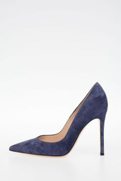Decollettes GIANVITO In Pelle Scamosciata 10 cm