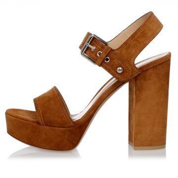 Suede Leather GINA Sandals