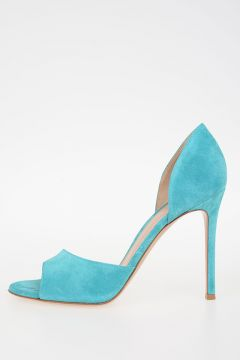 10 cm suede Leather CAMCYAN Decollettes