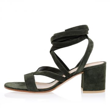 Leather JANIS LOW  Sandals