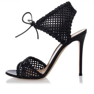Leather Sandals 12 cm