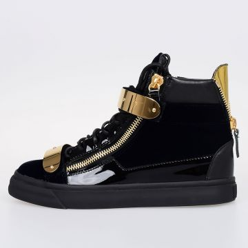 LONDON VERONICA Leather High top Sneakers