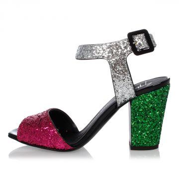 Sandalo LAVINIA Glitter 8cm