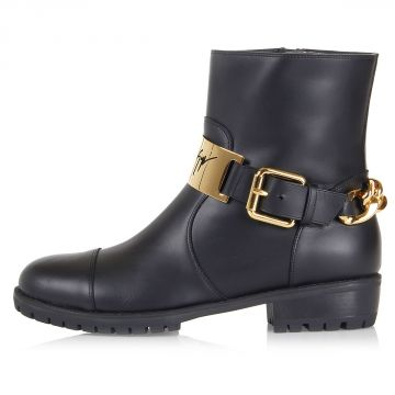 "Leather ""COBAIN 25"" Ankle boots"