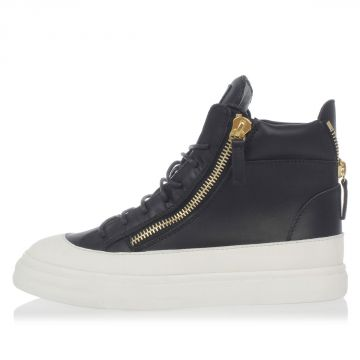 Sneakers in Pelle Spazzolata
