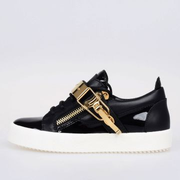 MAY LONDON Leather Low Sneakers