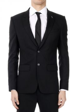 Blazer in Blend Wool Single Breasted