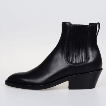 RIDER Leather Chelsea Ankle Boots