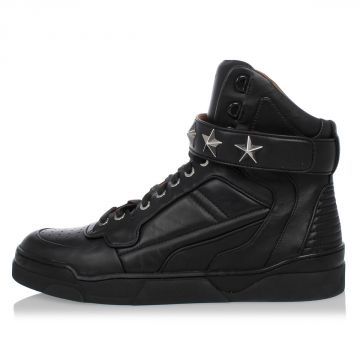Sneakers TYSON in Pelle Borchiate