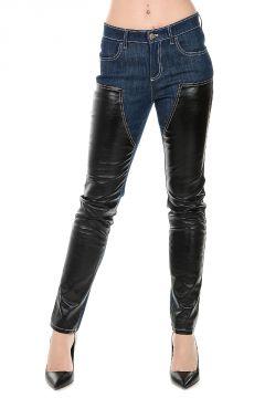 Cotton Blend Jeans 14 cm
