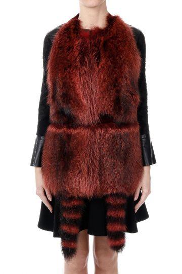 Fur Waistcoast