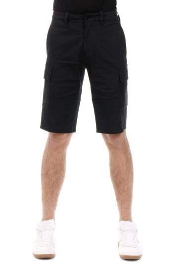 Pantaloni Bermuda in Cotone Stretch