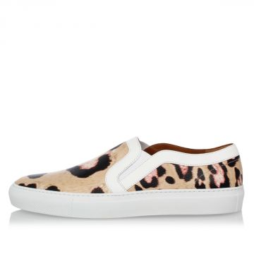 Leather printed Slip on SKATE Sneakers