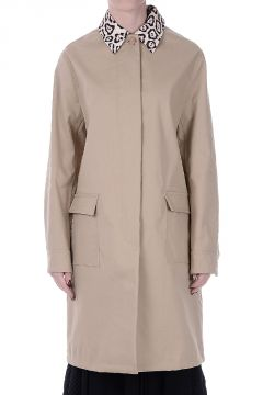 Cotton Blend Coat