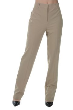 Wool Blend Stretch Pants