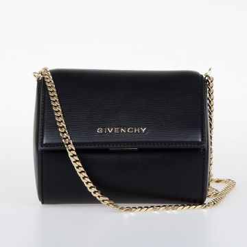 PANDORA BOX MINI Leather Clutch Bag
