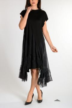 Oversize Laced Dress