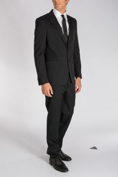 Stretch Wool Blend Suit