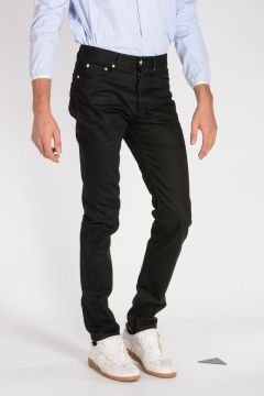 Jeans in Denim con Ricami 17 cm
